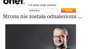 Onet zablokował Ziemkiewicza